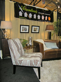 Accentuate Booth at the Kerrisdale Home and Garden Show